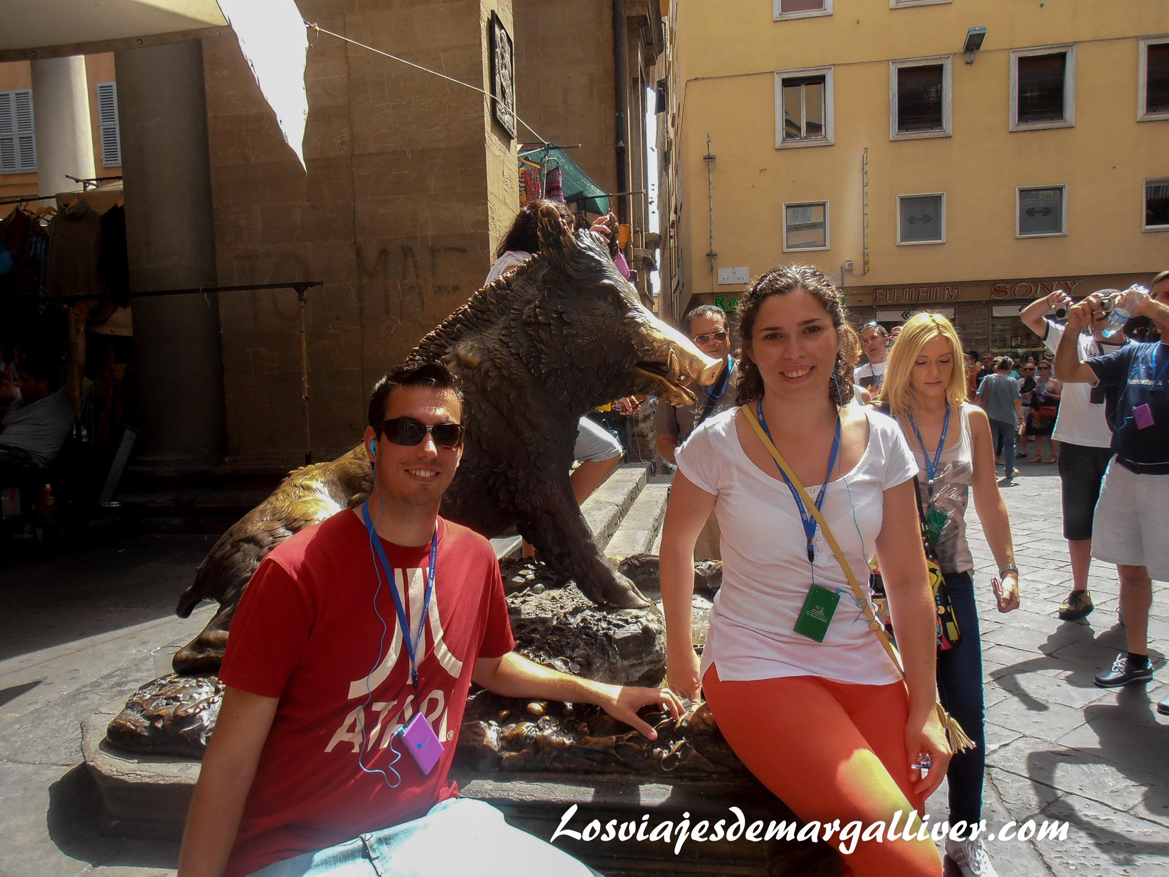 Florencia, San Valentín - Los viajes de Margalliver